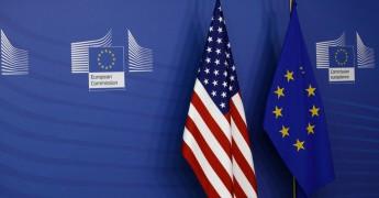 EU US flag