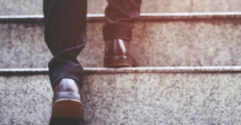 Process improvement, maturity model, walking up steps