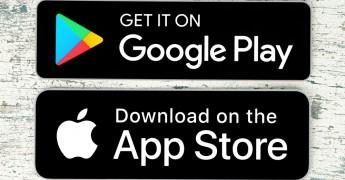 Google Play, Apple App stores