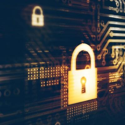IT Security, padlock