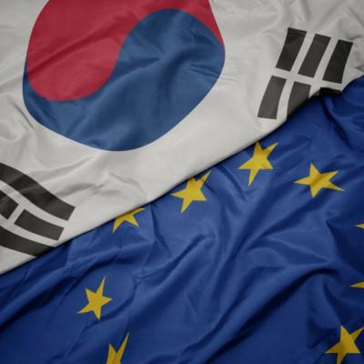 EU South Korea flag