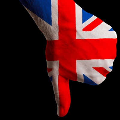 UK thumbs down
